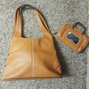 Hand bag with wallet purse